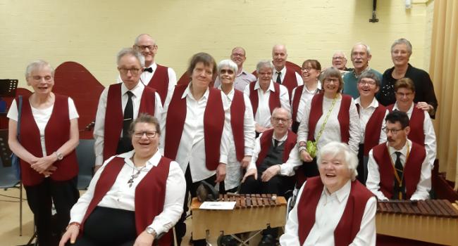 23 april '20 Muziekgroep 'De Sleutels' 50 jaar!